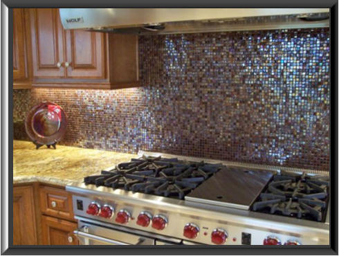 Multicolored Backsplashes, Allentown, PA Image  - Rome Granite and Tile